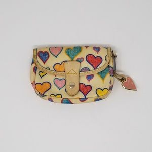 Dooney & Bourke Heart Wristlet